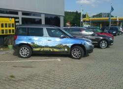 Fahrzeugfolierung Skoda Yeti