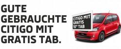 GEBRAUCHTE CITIGO MIT GRATIS TAB