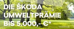 Die ŠKODA Umweltprämie bis zu 5.000 Euro sichern
